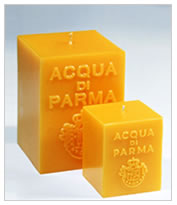 Acqua Di Parma Yellow Cube Candle Colonia Fragrance